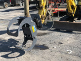 add a log grapple to your mini excavator with grapplepros.com