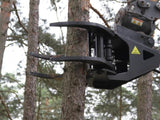 12 inch capacity tree shear for excavator mounting