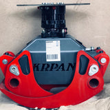 Hydraulic rotator for log grapple available from grapplepros.