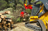 log grapple attachment for skid steer from grapplepros.com