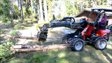 Skid steer tree sheer
