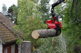 mecanil SG220 remote control grapple saw on treemek