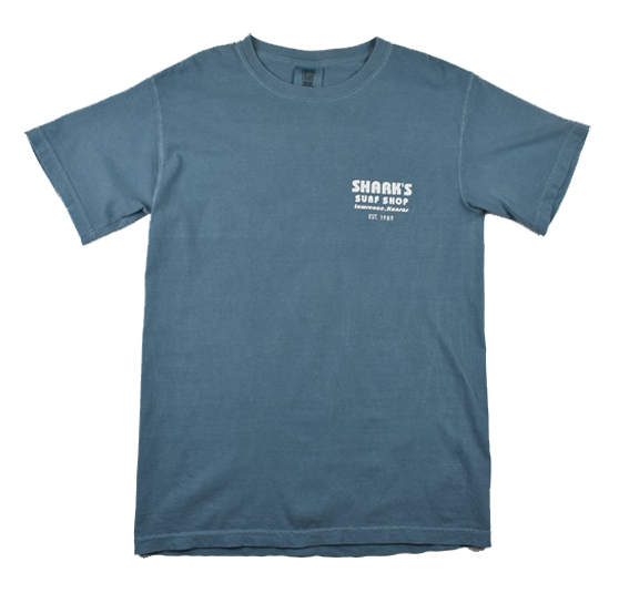 HERITAGE TEE - ICE BLUE