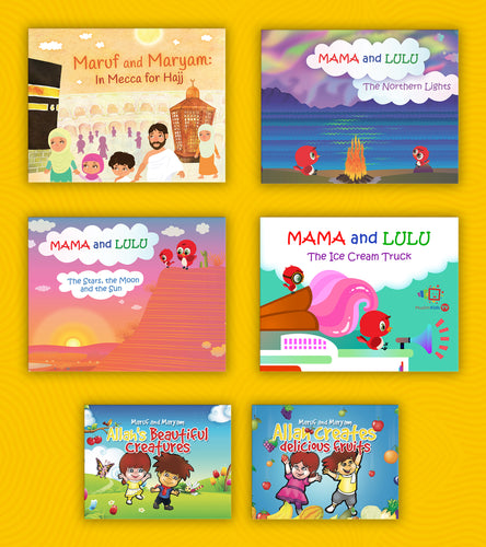 Muslim Kids TV Books Gift Pack