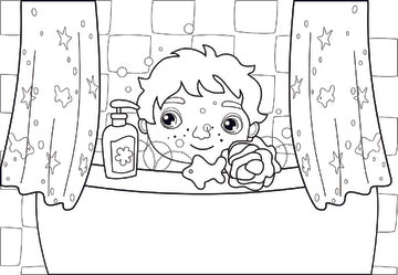 Hi Ho Hygiene coloring pages