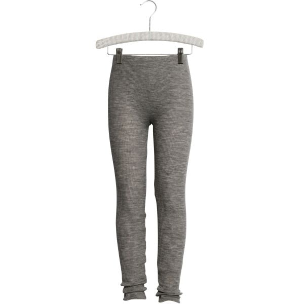 Wool Rib Leggings