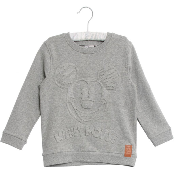 Sweatshirt Mickey Embossed