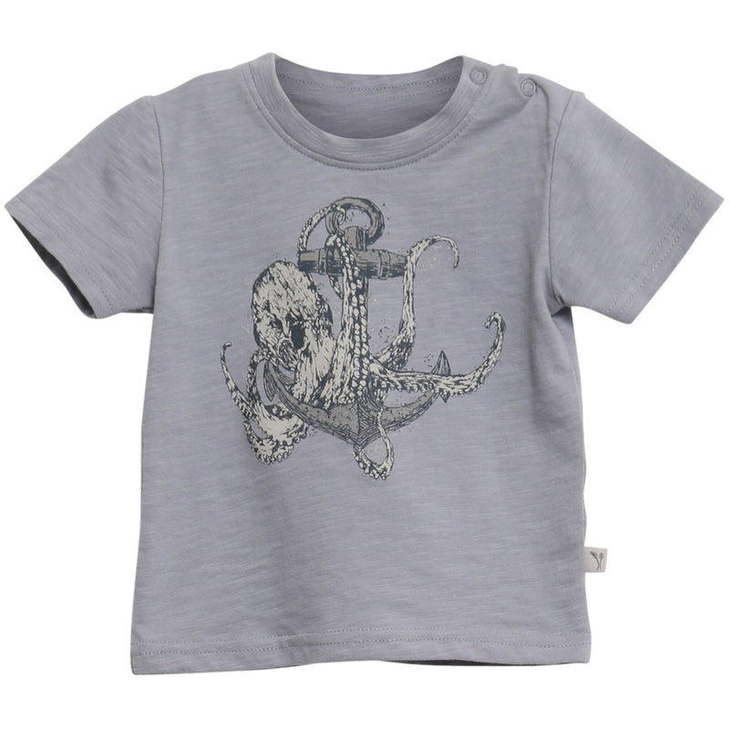 T-Shirt Anchor Octopus SS Baby
