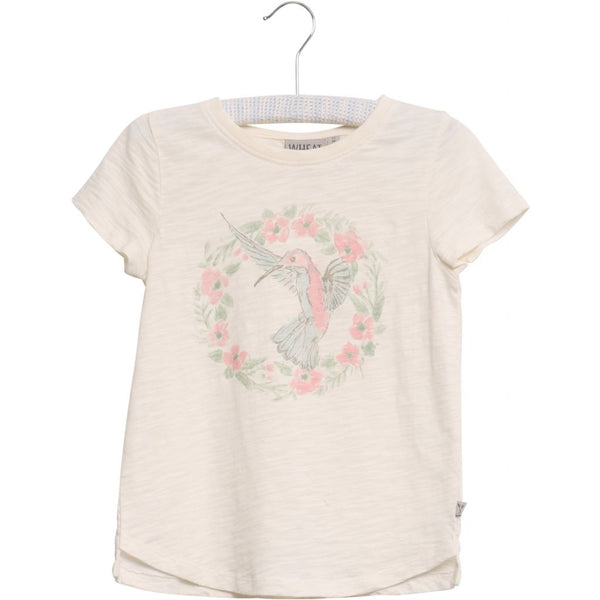 T-Shirt Flower Bird SS