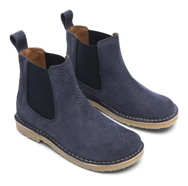 Cajo Boots Snake blue