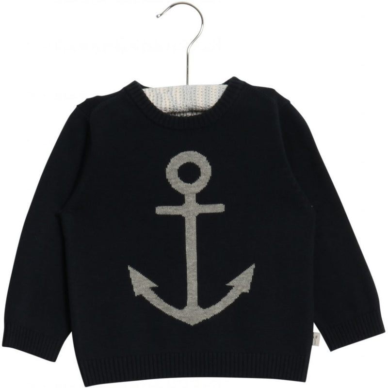 Knit Pullover Anchor Baby