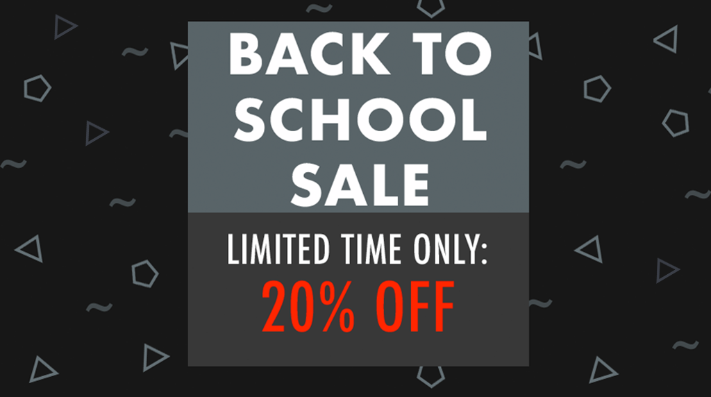 The Back to School Sale from YM360