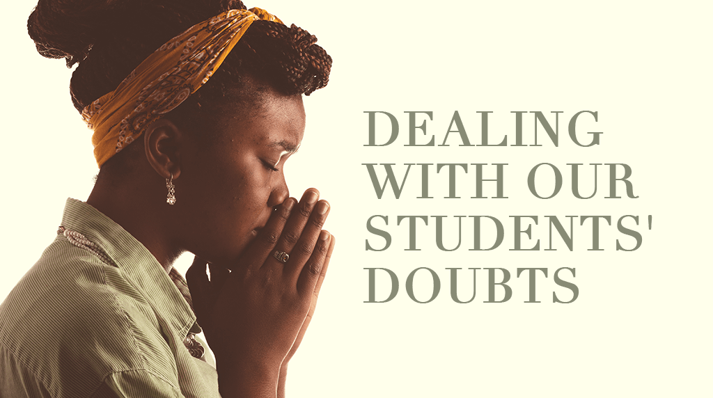 Dealing With Our Students' Doubts
