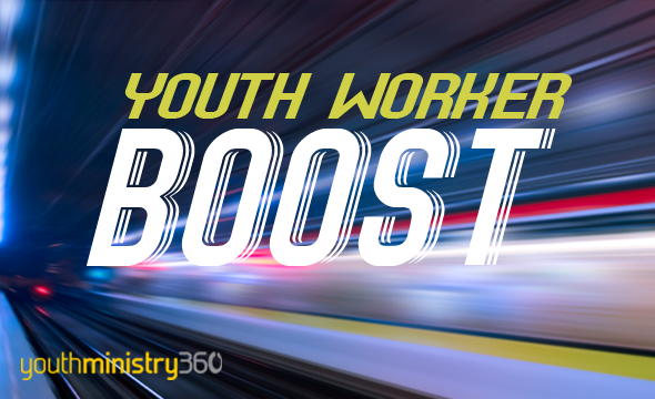 Youth Worker BOOST: Rx For A Healthy Youth Ministry