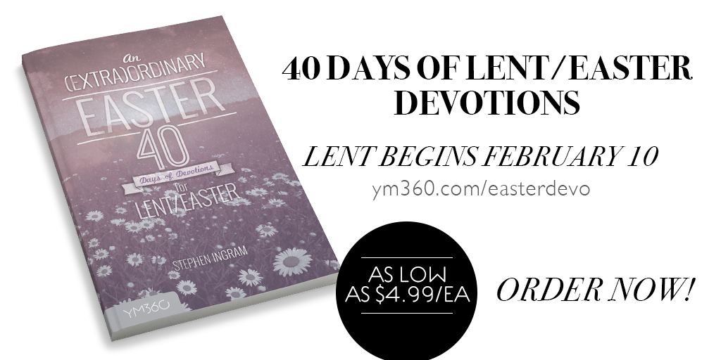 Don't Miss This GREAT Lent/Easter Devotion For Your Teenagers!