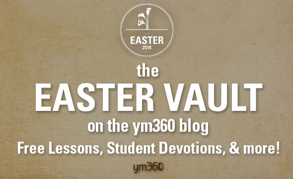 Check Out These FREE Youth Ministry Easter Lessons & Devotions