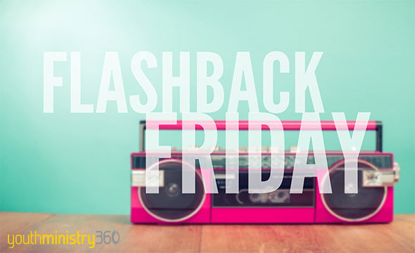 Flashback Friday (Mar. 27): This Week's Links From The Youth Ministry Blogosphere