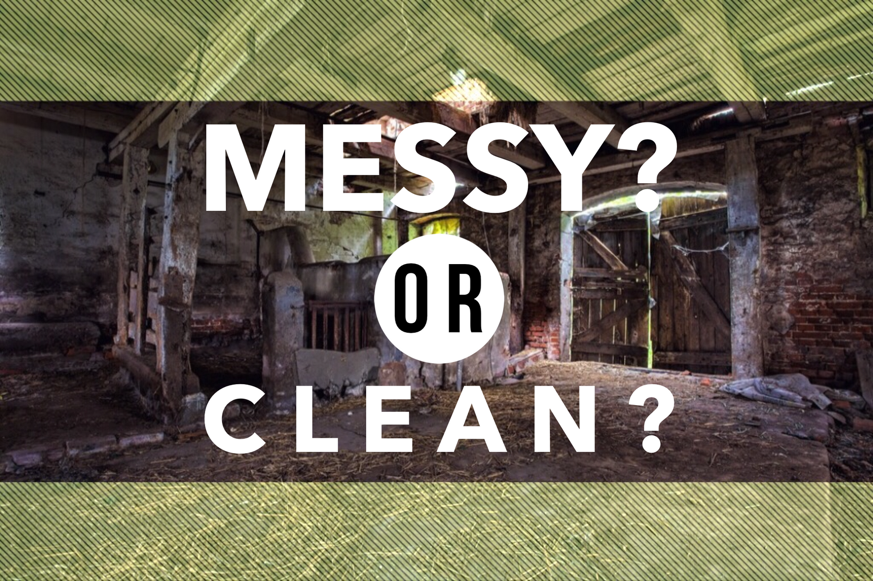 Your Youth Ministry Is A Manger. Is It Messy Or Clean?