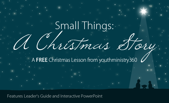A FREE Christmas Bible Study Lesson For Your Youth Ministry