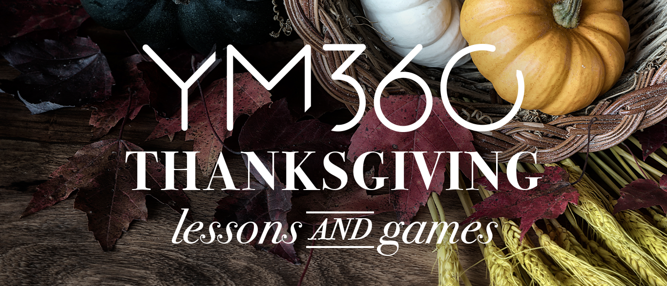 Free Thanksgiving Lessons and Games