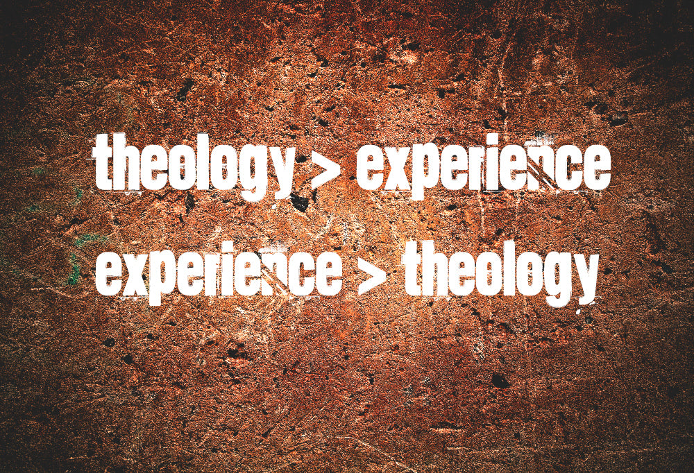 do students' experiences shape their theology? or vice versa?