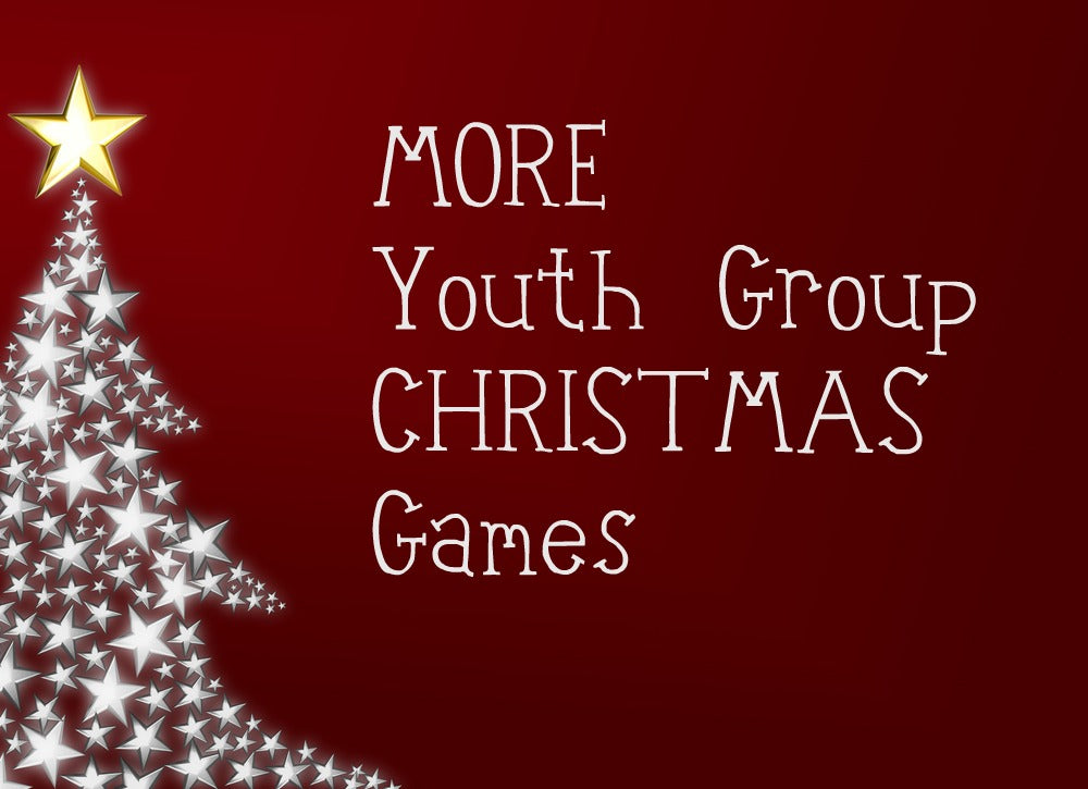 MORE Youth Group Christmas Games!
