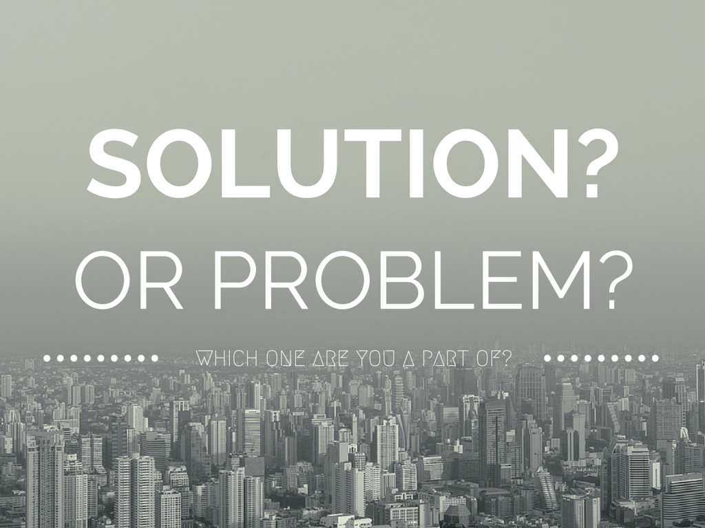 Is Your Youth Ministry Part Of The Solution? Or Part Of The Problem?