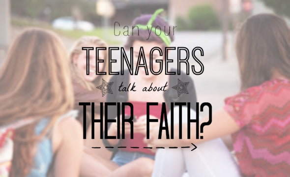 Equipping Your Students To Talk About Their Faith