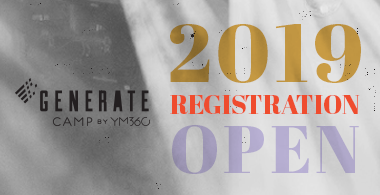Registration is open for youth ministry summer camp GENERATE Camp by YM360 in 2019