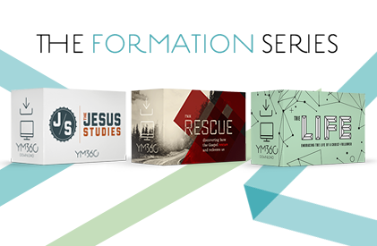 A 3-year scope and sequence youth ministry Bible study series by YM360 that equips your students with the knowledge they need to live bold lives for Christ.