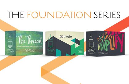 A 3-year scope and sequence youth ministry Bible study series by YM360 that will help students with foundational essentials to build a lasting faith.