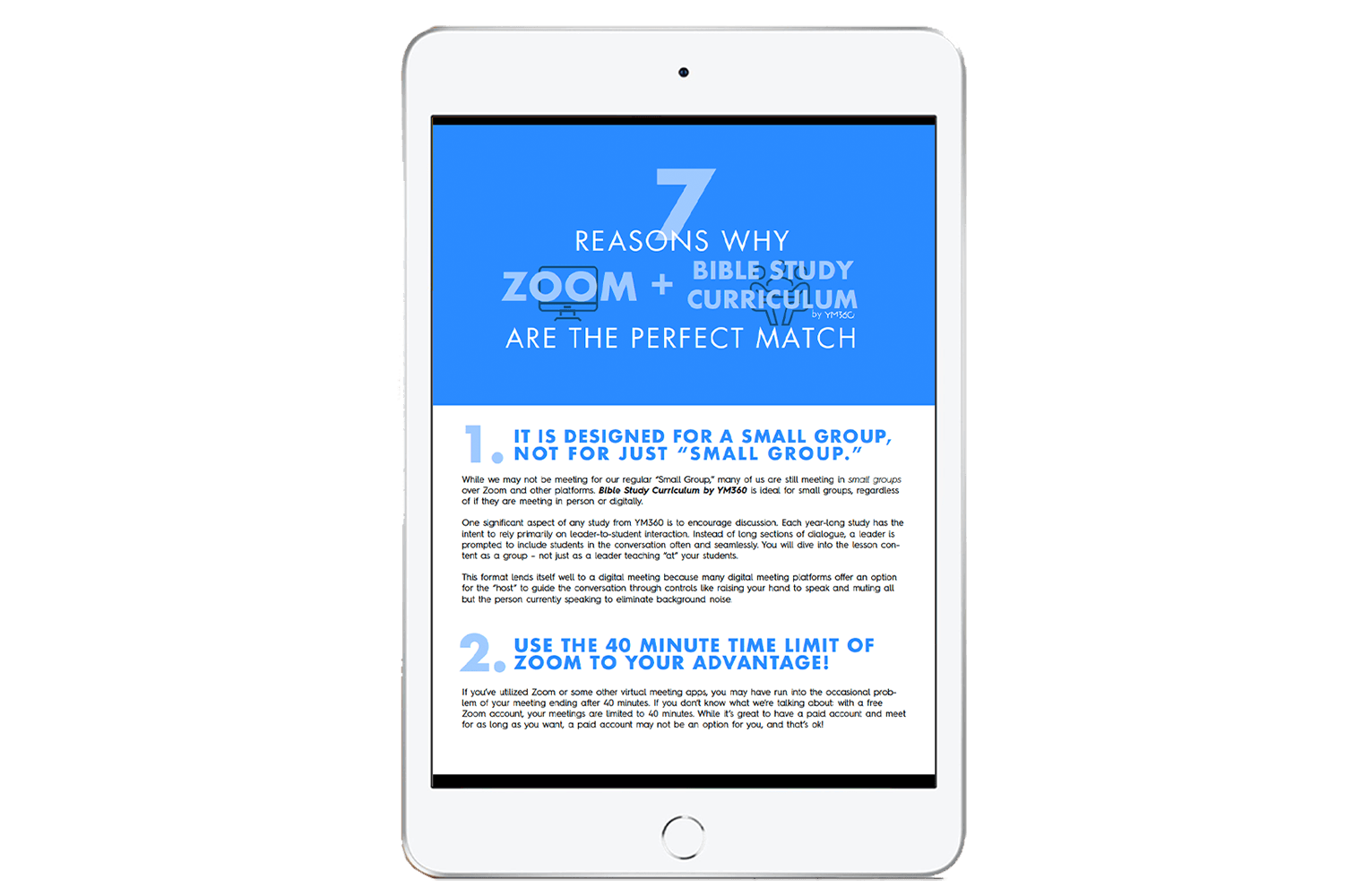 7 Reasons Why Zoom and Bible Study Curriculum by YM360 Are the Perfect Pair