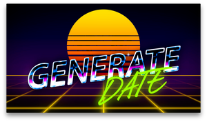 GENERATE Date Video (Men)