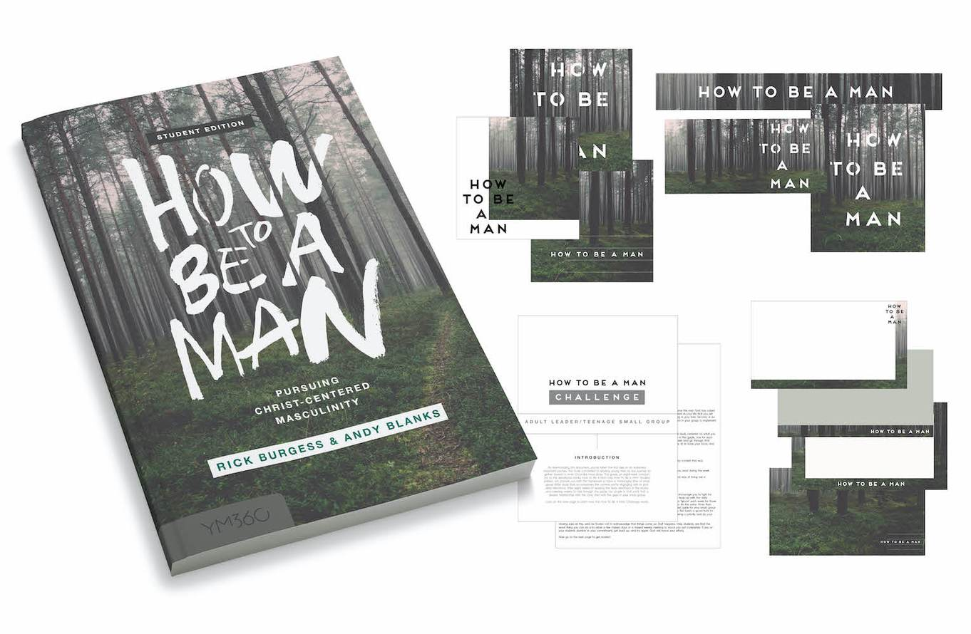 How to Be a Man: Three Book Set [Student Edition]