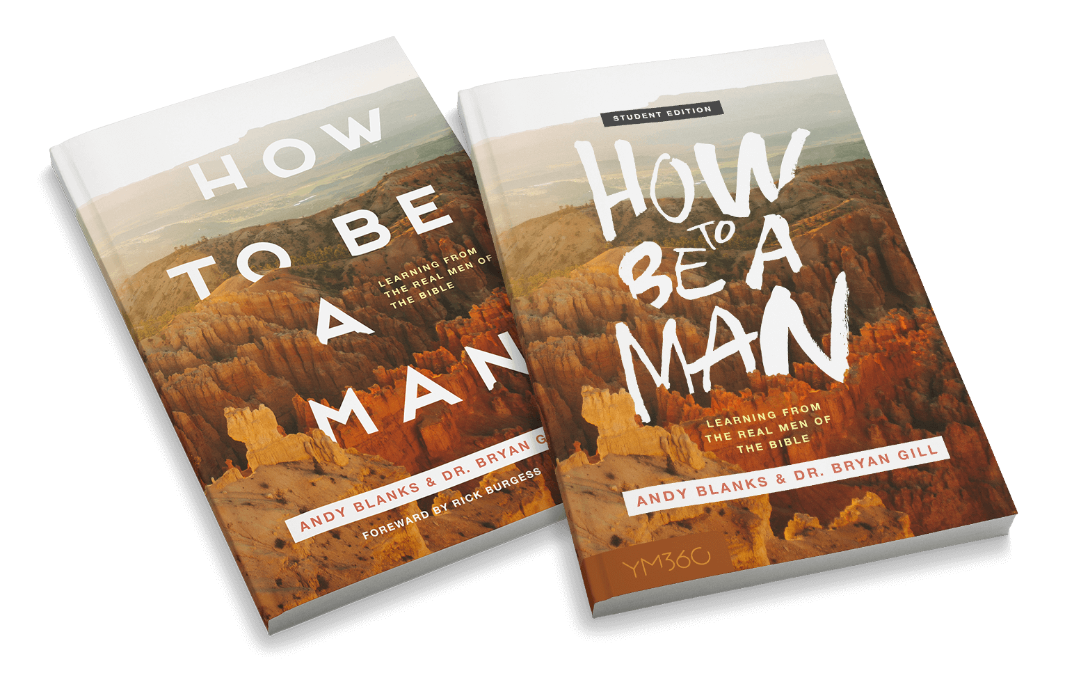 How to Be a Man: Learning From The Real Men Of The Bible Small Group Bundle