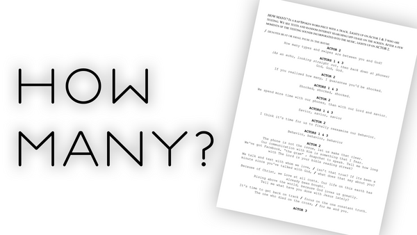 """How Many?"" Script"