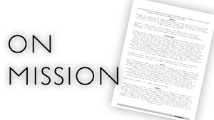 """On Mission"" Script"