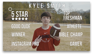Youth Ministry Commitment Video