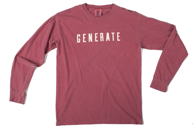 GENERATE Long Sleeve Tee