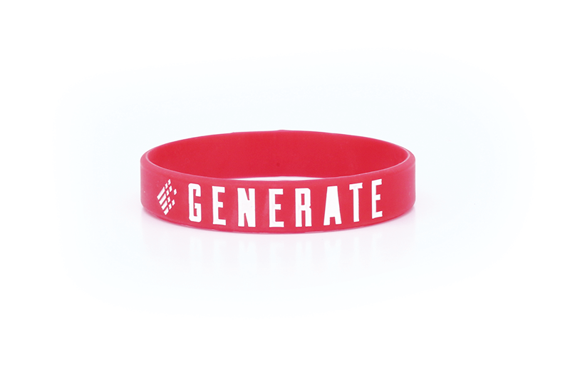 GENERATE Wristband - RED