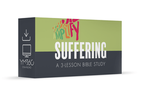 Suffering: A 3-Lesson Bible Study