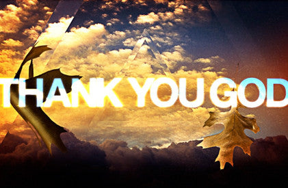 (HD) Video Illustration: Thank You God