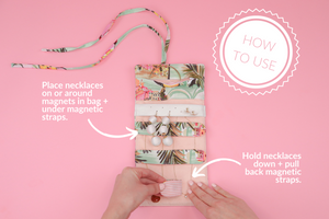 How To Use blingsling mini travel jewelry organizer