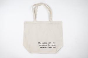 She Was A Clever Girl Tote Bag Front