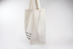 She Was A Clever Girl Tote Bag Side