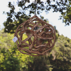 Medium Vine Ball Light