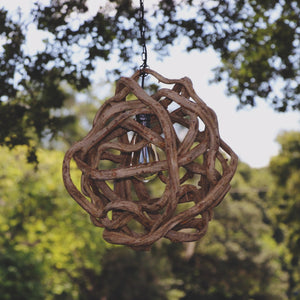 Small Vine Ball Light