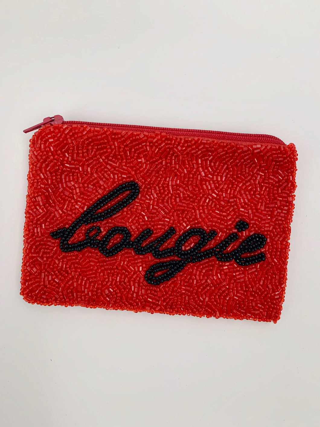 Bougie Beaded Coin Purse