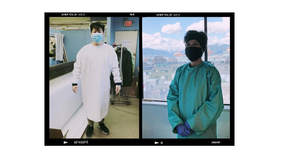Behind the scenes with Eric: Level 3 Isolation Gowns