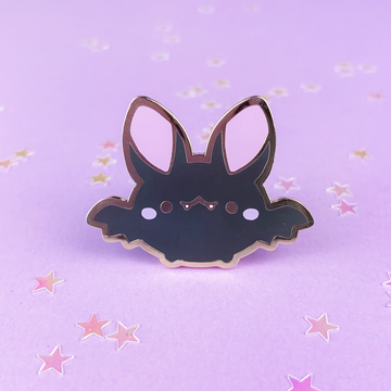 Spooky Cute - Bat (Black) Pin